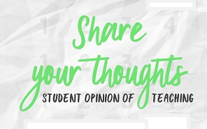 Share Your Thoughts with Faculty