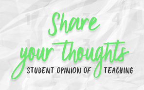 Share Your Feedback with Faculty