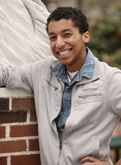 Jordan Leggett, Vocal Performance Major