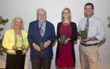 Faculty honored
