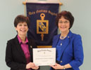 Business Honor Society receives honor