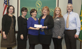 Nursing receives donation