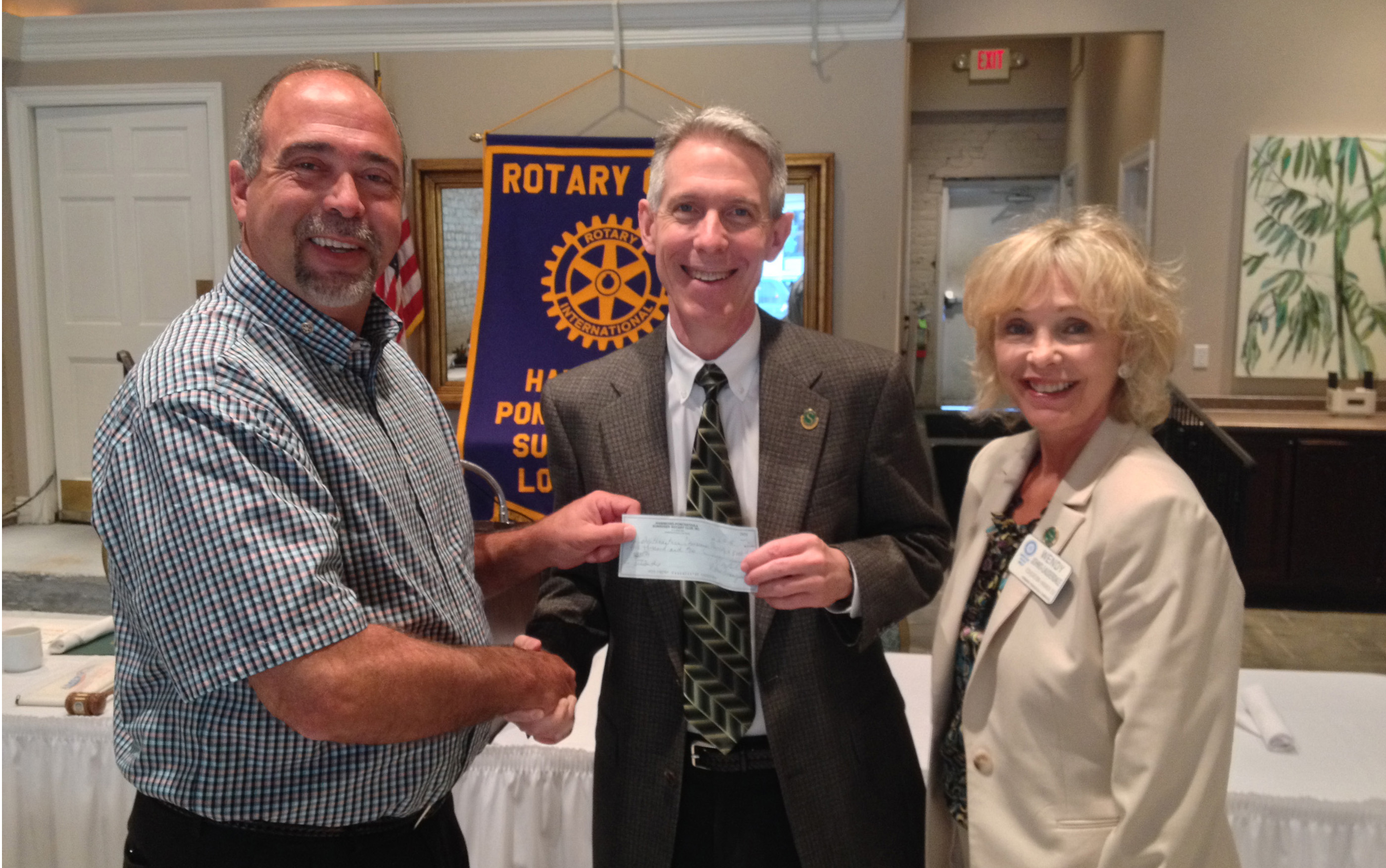 Rotary Club pledges scholarship funds