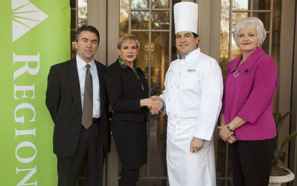 Regions Bank sponsors President's Toast for Chefs Evening