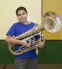 Jefferson Parish Summer Band Camp participant