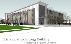 Science Technology building groundbreaking