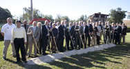 Science and Technology building groundbreaking