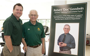 'Doc' Goodwin honored with Southeastern Athletic Fund