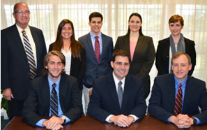 outheastern finance team named winner in national Community Bank Case Study competition