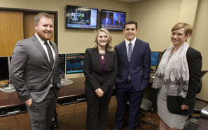 Southeastern business students win case study competition