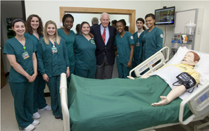 Southeastern nursing program receives new simulation laboratory gift