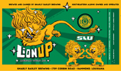 Lion Up beer label