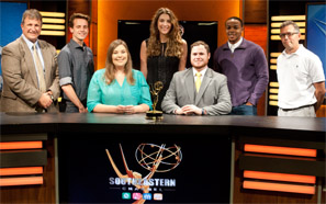 Southeastern students win two Emmy Awards