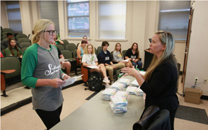 Grant from 23andMe aids in genetics instruction at Southeastern