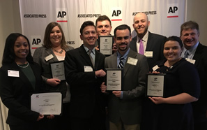 Southeastern students dominate Associated Press Awards