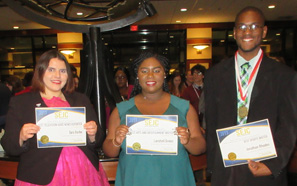 Southeastern students win at journalism conference