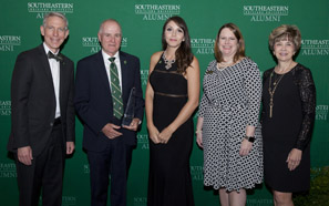Southeastern recognizes distinguished alumni, others at awards banquet