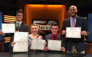 Southeastern students win Mark of Excellence Awards