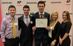 Southeastern students honored by Associated Press