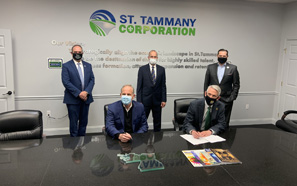Southeastern, St. Tammany Corporation formalize partnership to strengthen business outreach efforts in St. Tammany Parish