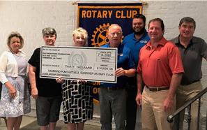 Southeastern receives endowed scholarship from Rotary Club