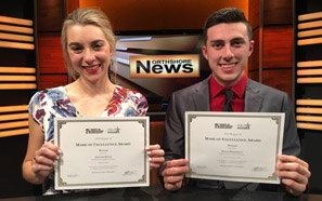 Southeastern Channel students win national videography awards