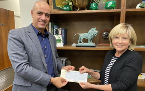Southeastern Industrial and Engineering Technology Department receives donation