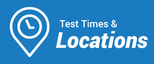 Test Times and Locations