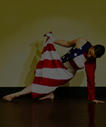 Dancer with Flag