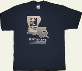 navy t-shirt with state logo