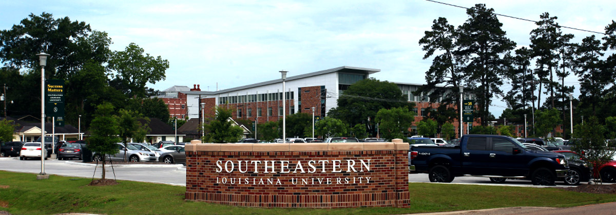 Southeastern Entrance Sign