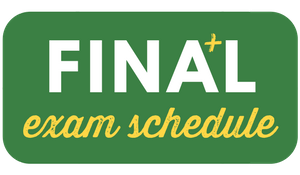 final exam schedule button