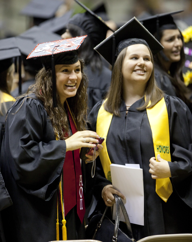 Graduation lesbian until