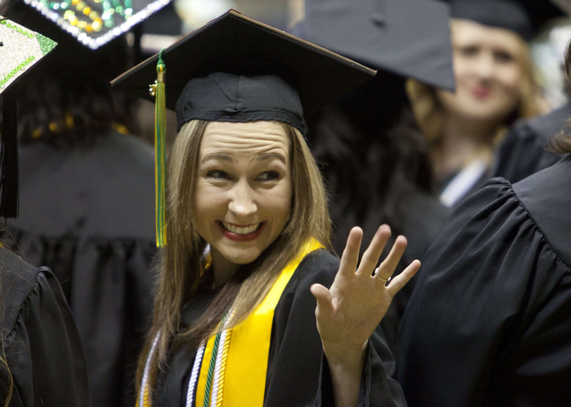 Southeastern confers degrees on more than 1,100